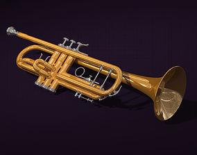 horn trumpet 3D model