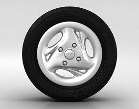 3D model Daewoo Matiz Wheel 13 inch 003