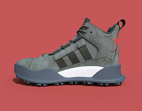 3D model Adidas sneakers F1-3 LE