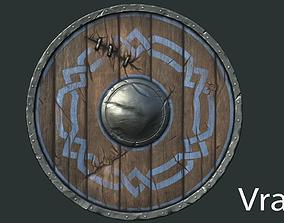 medieval 3D model Shield