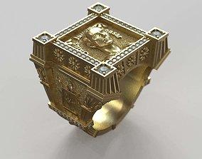 Man Ring Guy Julius Caesar 3D printable model