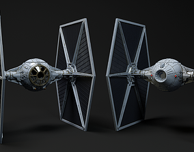 TIE FIGHTER - STAR WARS 3D model
