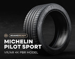 3D model Michelin Pilot Sport Tire 4K PBR