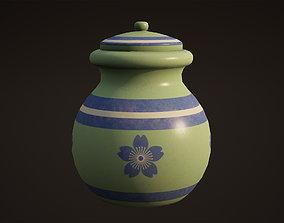 Pot Game Ready 3D model