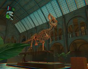 FPS Museum - VR tournament map 3D asset