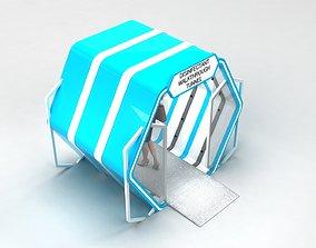 3D Sanitizer Gate Disinfectant walk through Tunnel