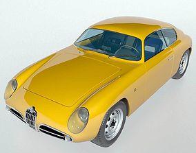 1959 Alfa Romeo SVZ 3D model