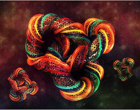 Knot design 3D model