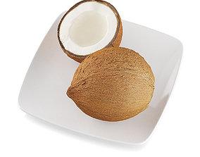 Coconuts 3D model