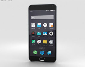3D model Meizu M2 Note Gray
