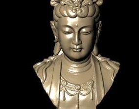 3D print model geometric The Bodhisattva