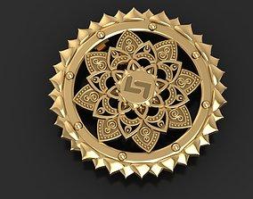 Flower mandala 3D print model