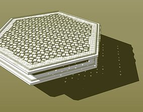3D printable model Coaster weave and base