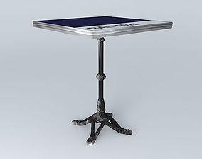 3D steel BISTRO TABLE SQUARE ARDAMEZ Company