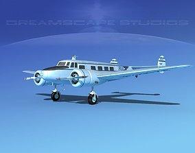 3D Lockheed L10 Electra Pan Am