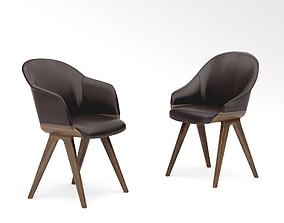 Potocco Lyz chair 918 and Lyz armchair 918 3D model
