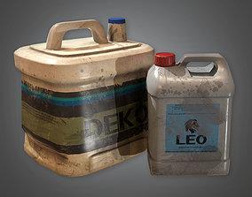 TLS - Glue Bottles - PBR Game Ready 3D asset