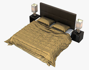 Luxorious Bed 3D