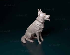 3D printable model nature German shepherd dog