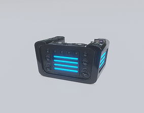 Ultron DJ Desk 3D model