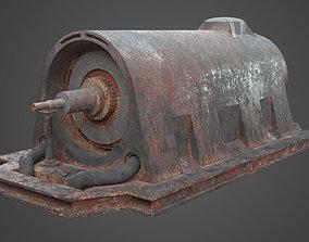 Factory Element - Industrial Motor 3D asset