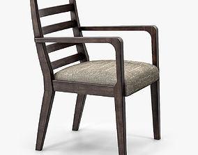 Morgan Boston Dining Chair 820 A 3D