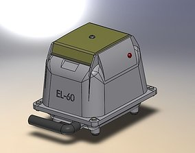 3D model Air Compressor EL-60
