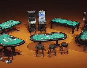 Casino Props Pack UE4 UNITY 3D asset