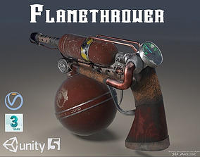 3D model FlameThrower DIY