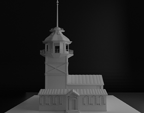 Maidens Tower 3D zbrush