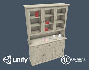 Cupboard 3D model low-poly