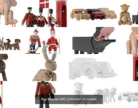 Kay Bojesen BIG Collection 3D model rosendahl
