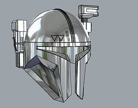 The Mandalorian Paz Vizsla Heavy infantry 3D print model 1