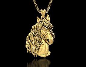 The Horse Head Pendant 3D printable model
