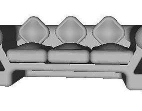 3D print model Sofa 3 Seating