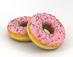 3D model cake Donut