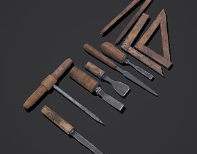 3D model Carpenter Hand Tools