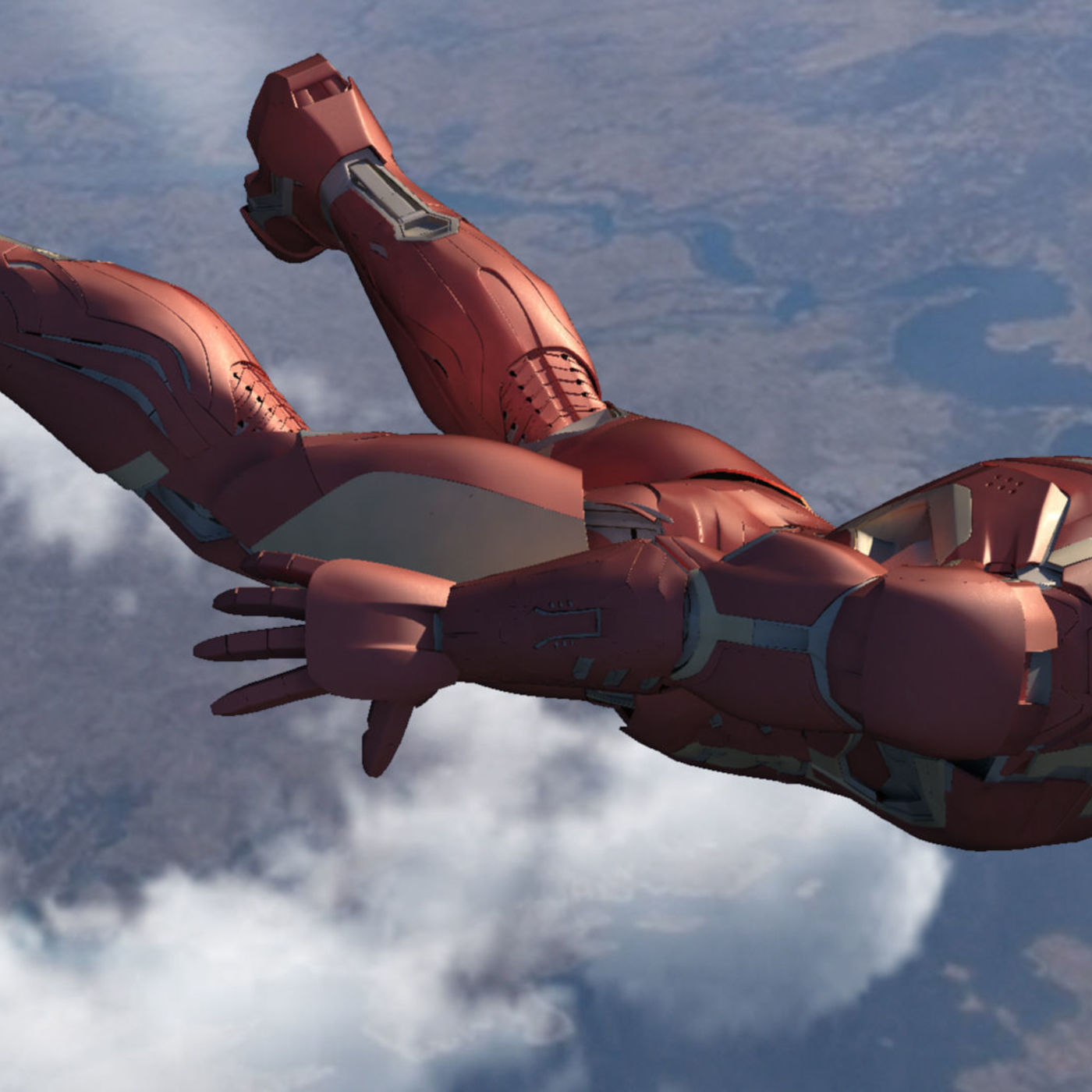 Iron Man Mark 45 | CGTrader