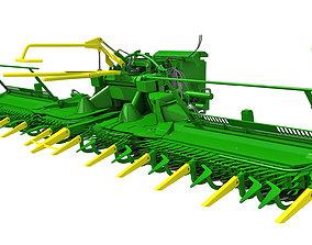3D model Harvester Threshing Header