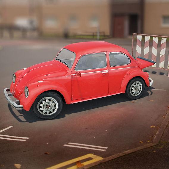 Volkswagen beetle game model