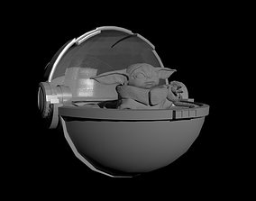 Baby Yoda 3D print model grandmaster
