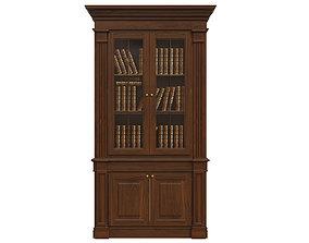 3D model Bookcase 1300