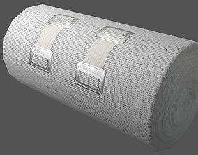 Elastic Bandage Clips 3D asset