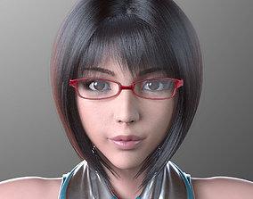 3D model Sayuri Kouzuki V1 Light Edition for Maya