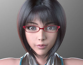 3D model Sayuri Kouzuki V1 Light Edition for Maya