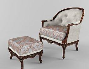 3D model Mantellassi armchair