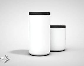 ELEMENTs STORAGE JAR - TALL 3D printable model
