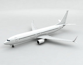 3D model Boeing BBJ MAX 8 Airliner - Generic