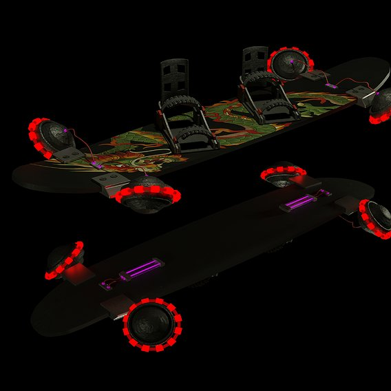 Hoverboard by concept