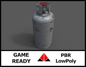 Gas tank 3D model VR / AR ready PBR